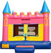 pink-castle-bounce-house